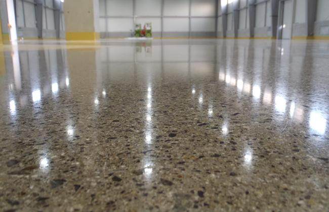 quy trình đánh bóng sàn bê tông