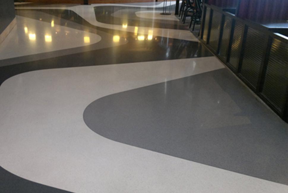 Mài sàn bê tông - Bê tông trang trí BM