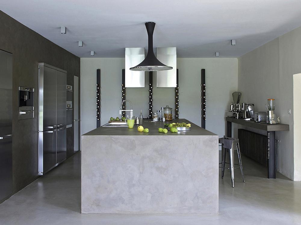 Kiến trúc nhà bếp độc đáo nhờ bê tông trang trí-2