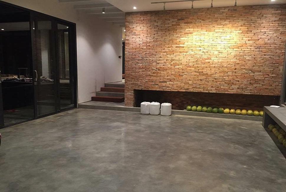 hóa chất đánh bóng sàn bê tông